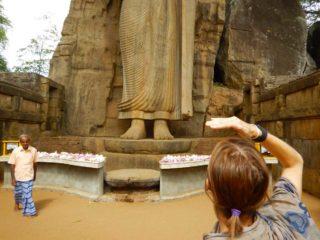 Statua di Aukana