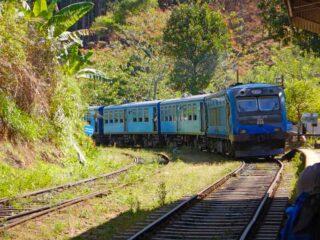 Sri Lanka Treno per Nuwara Eliya