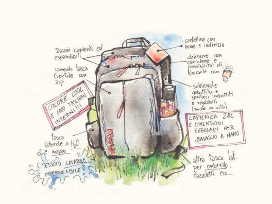 Lo zaino da viaggio perfetto: 7 caratteristiche per sceglierlo