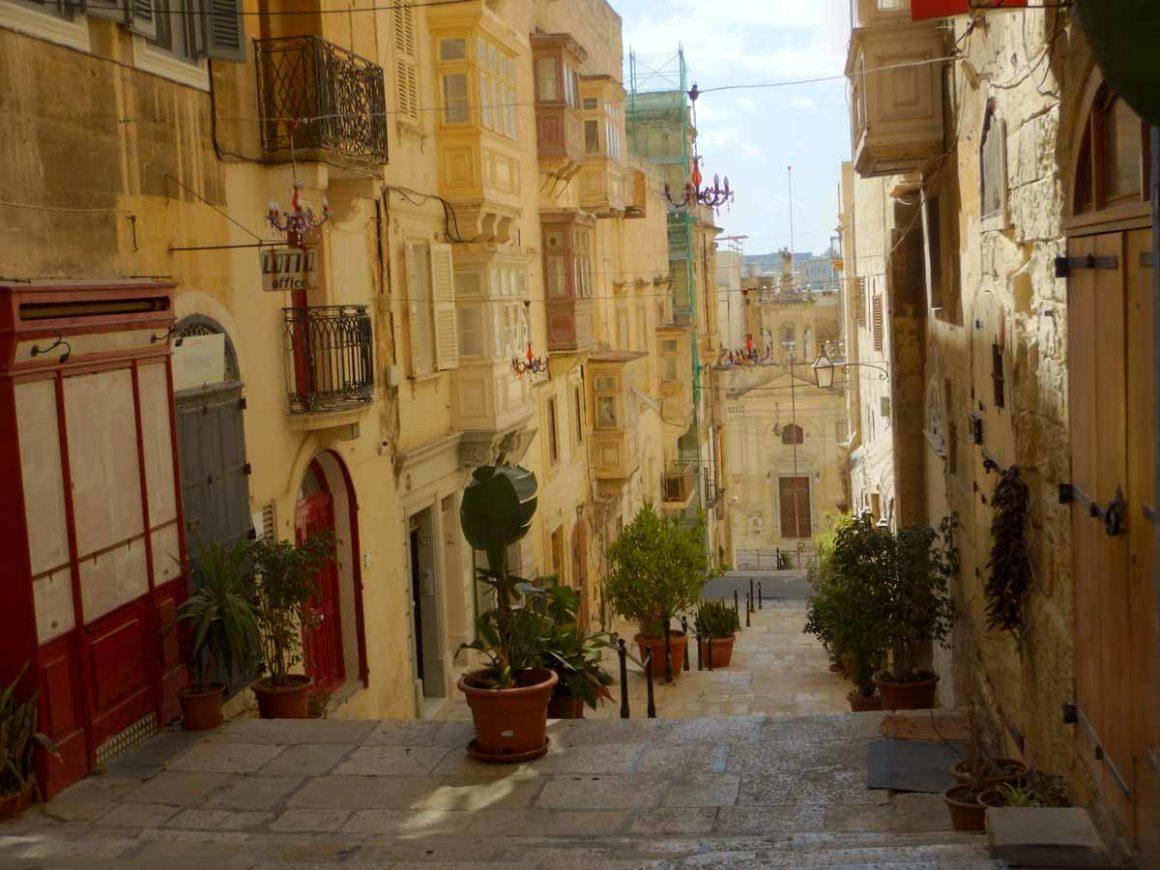 Curiosità su Malta e Gozo: centro storico di La Valletta, Malta