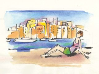 Vittoriosa disegno di Luca Braidotti
