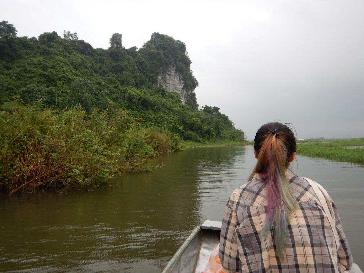 I capelli arcobaleno della nostra guida di Ninh Bihn, Vietnam