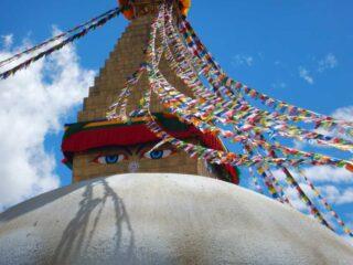 Stupa di Boudhanath a Kathmandu, Nepal