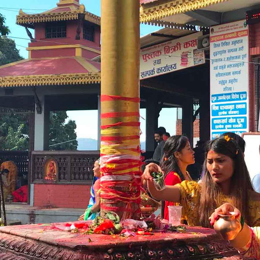 Festività in Nepal ad agosto: Sawan Somwar, il festival delle donne a Pokhara, Nepal