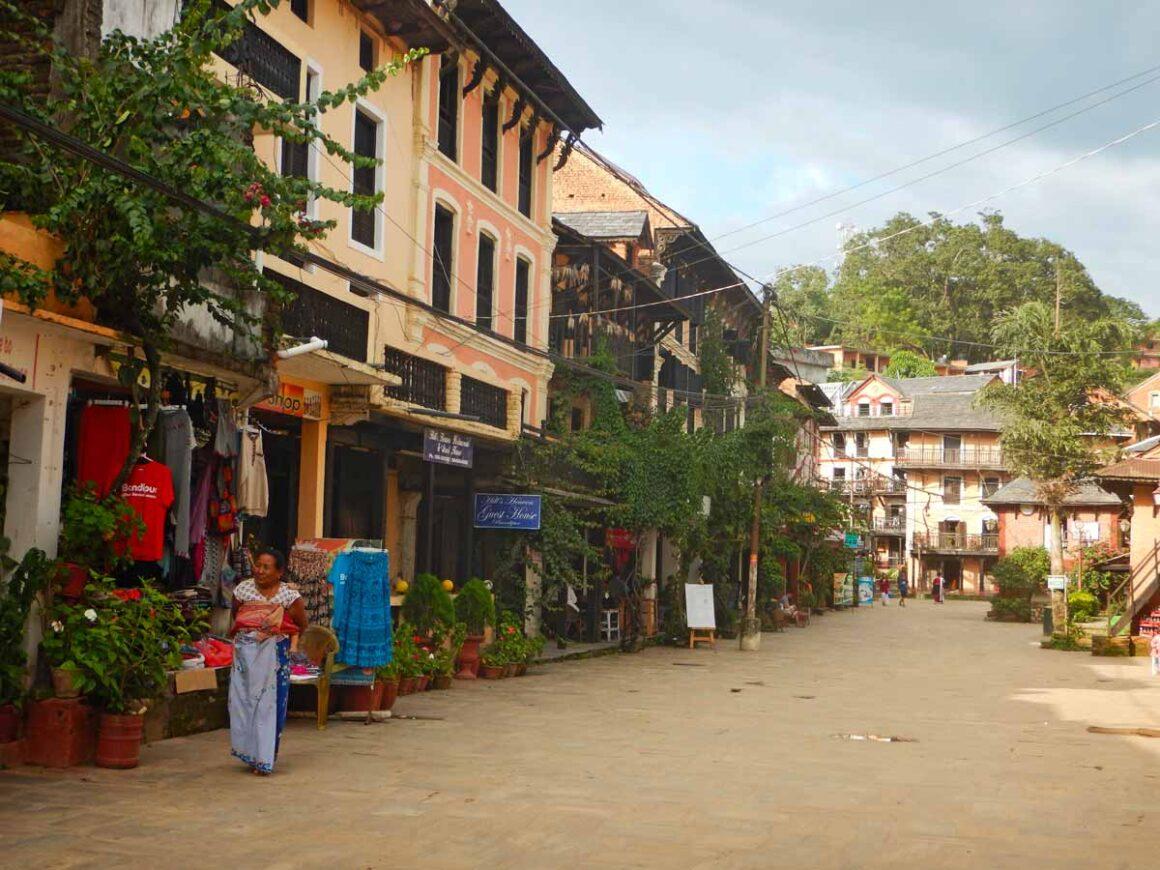 Centro di Bandipur, Nepal