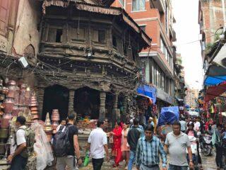 Negozi nel centro di Kathmandu