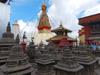 Stupa Swayambhu a Kathmandu