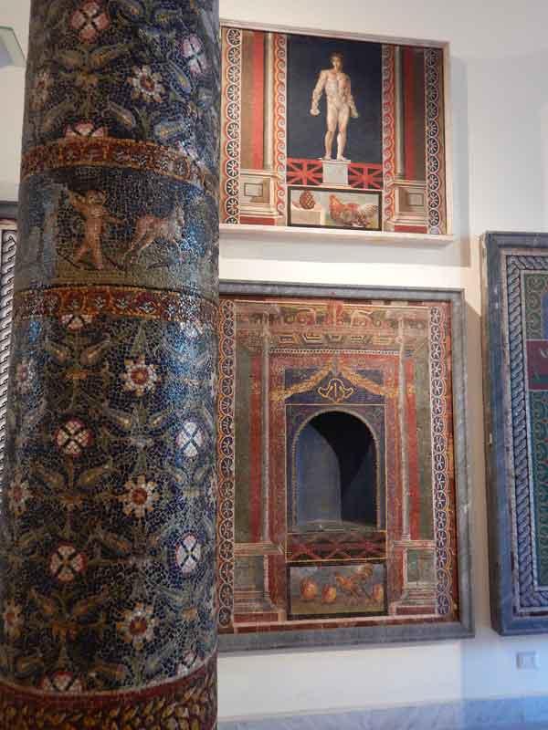 Mosaici di Ercolano al Museo Archeologico Nazionale di Napoli