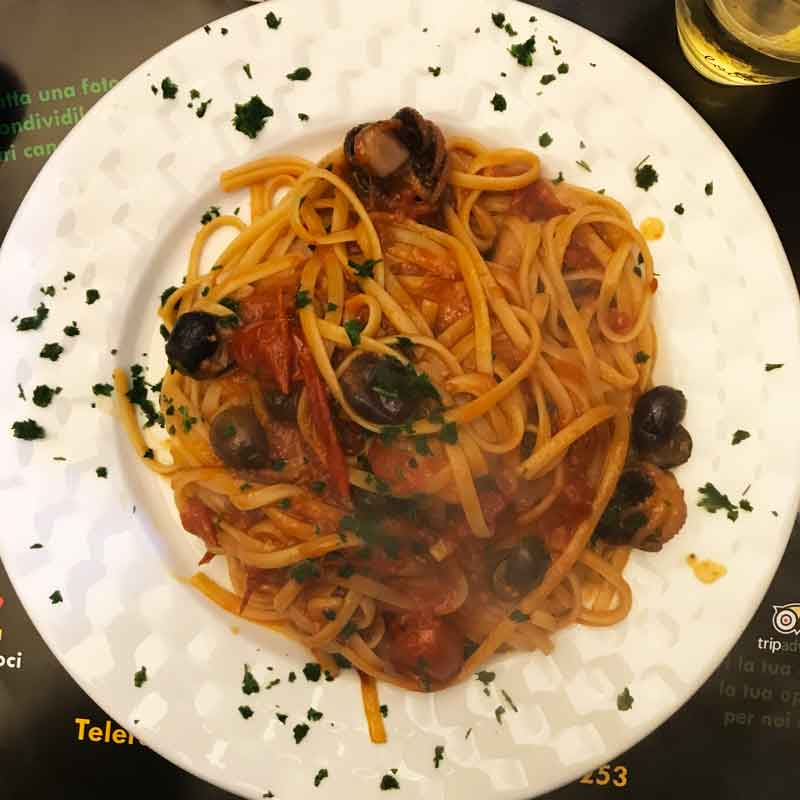 Napoli piatto di pasta