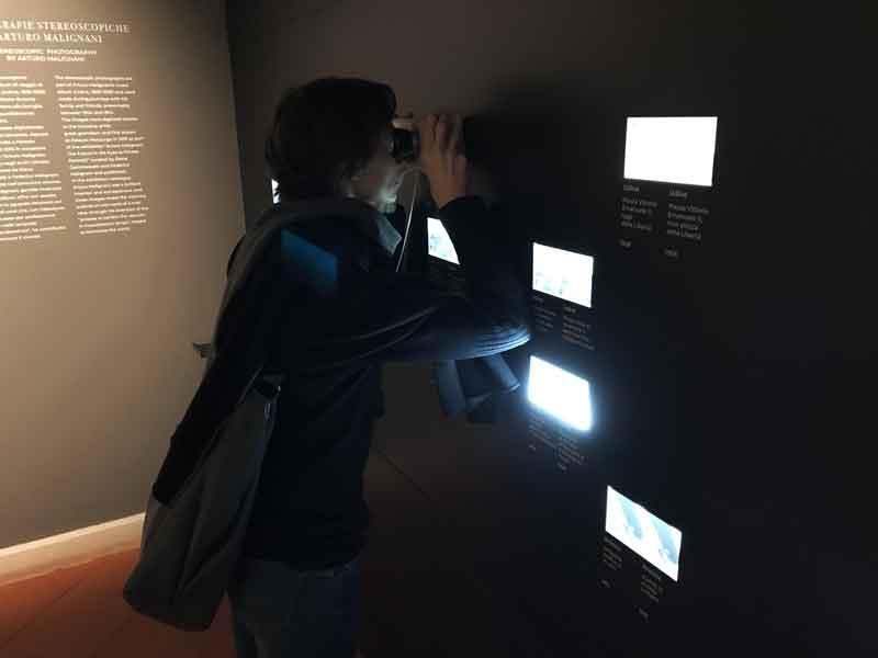 Foto stereoscopiche al Museo del Castello di Udine