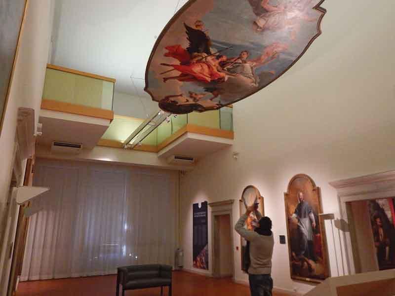 Visita al Museo del Castello di Udine, le opere del Tiepolo