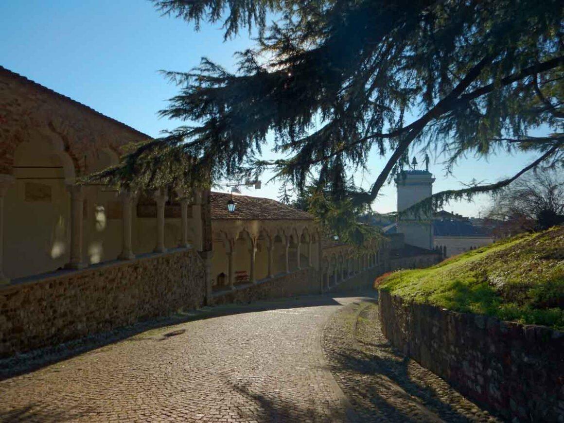Visita al Museo del Castello di Udine, il porticato del Lippomano