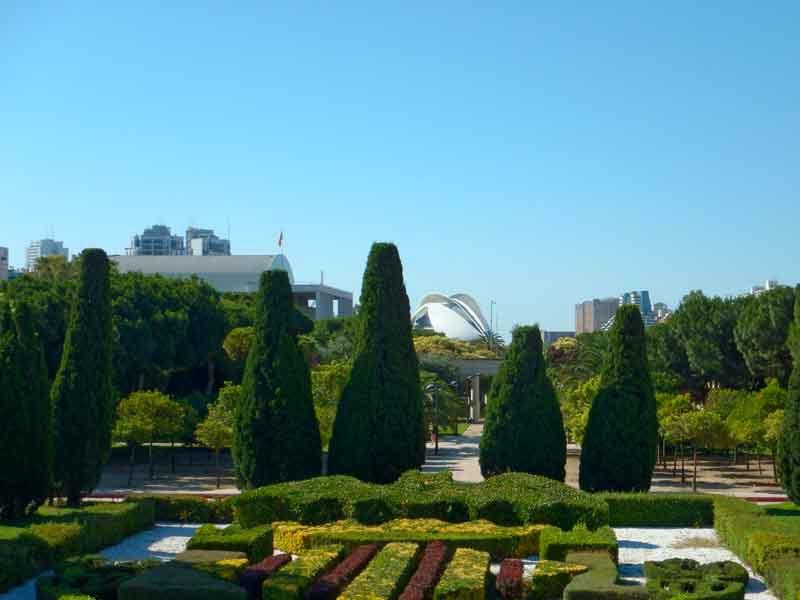 I Giardini del Turia a Valencia