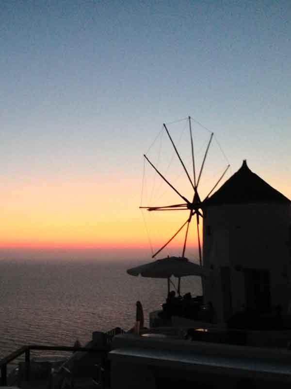 Una settimana a Santorini: tramonto a Oia