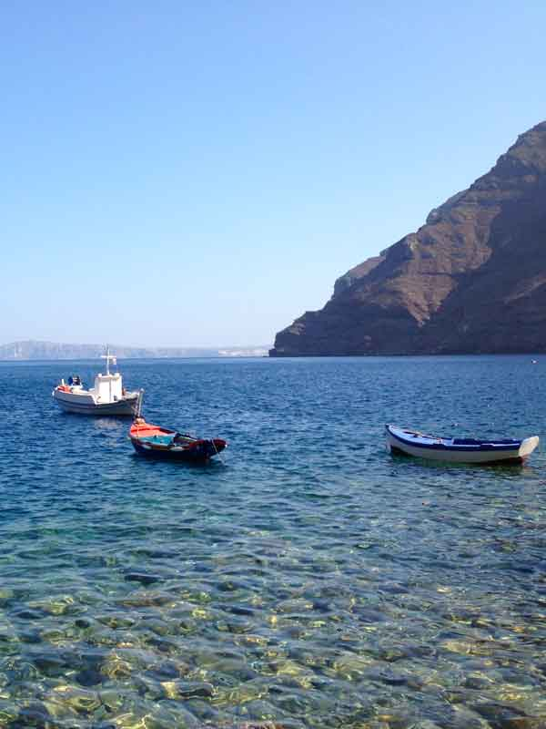 Una settimana a Santorini: visita a Thirasia