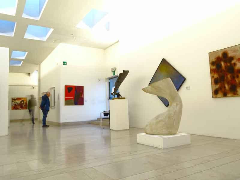 Visita al Museo Revoltella di Trieste: galleria d'arte moderna, VI piano