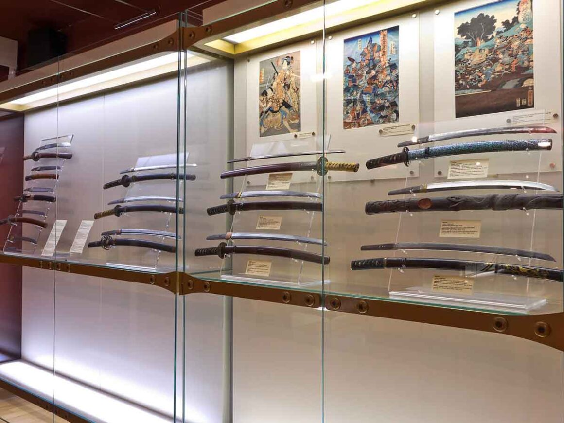 Katane giapponesi al Civico Museo d'arte orientale Trieste