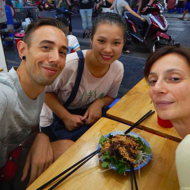 Cucina vietnamita: Nom Bo Kho: insalata di carne secca di manzo