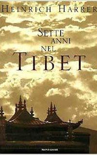 Copertina Sette anni in Tibet, Heinrich Harrer